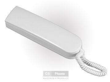 Telefon DG-1 bílý s rozlišným vyzváněním