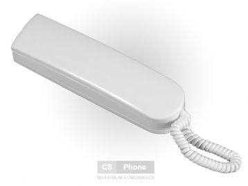 Telefon LM-8 bílý s rozlišným vyzváněním
